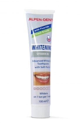 Альпен Дент відбілююча зубна паста з вітаміном B5