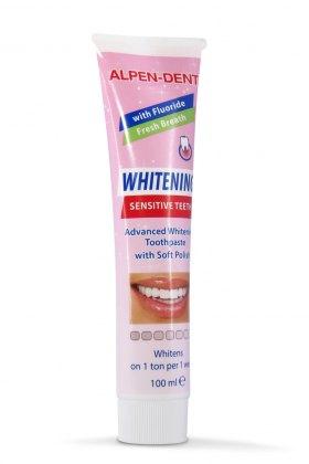 Альпен Дент відбілююча зубна паста для чутливих зубів
