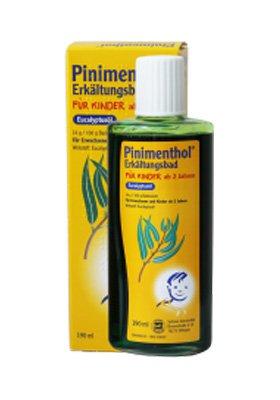 Pinimenthol Liquid anti-cold bath concentrate for children