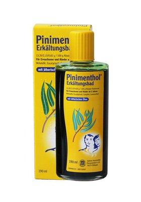 Концентрат жидкий для ванн «Пиниментол» противопростудный